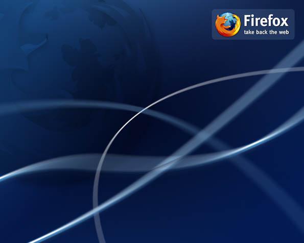 Obrázek na plochu v rozlišení 1280 x 1024 - Firefox si bere zpět internet