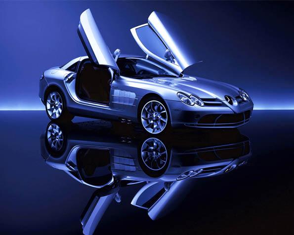 Obrázek na plochu v rozlišení 1280 x 1024 - Luxusní model Mercedes McLaren