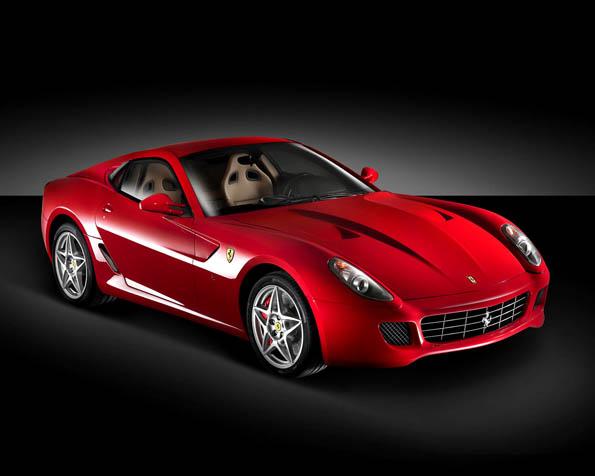 Volba: tapeta v rozlišení 1280 x 1024 - Červené Ferrari model 599 GTB