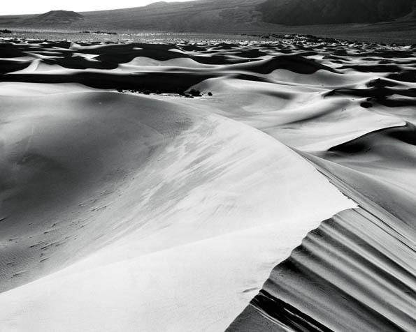Volba: tapeta v rozlišení 1280 x 1024 - Černobílá poušť
