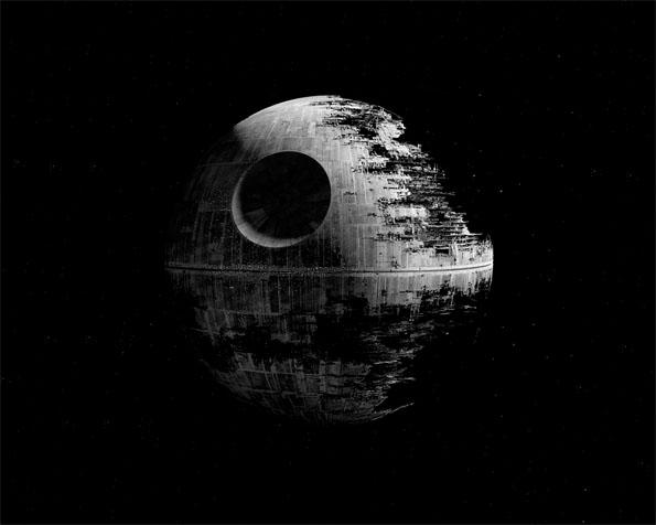 Obr�zek na plochu v rozli�en� 1280 x 1024 - Star Wars a Mrtv� hv�zda