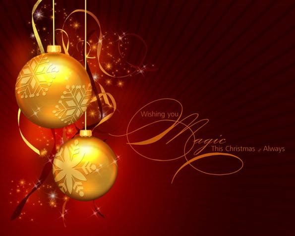 Obrázek na plochu v rozlišení 1280 x 1024 - Magické vánoce