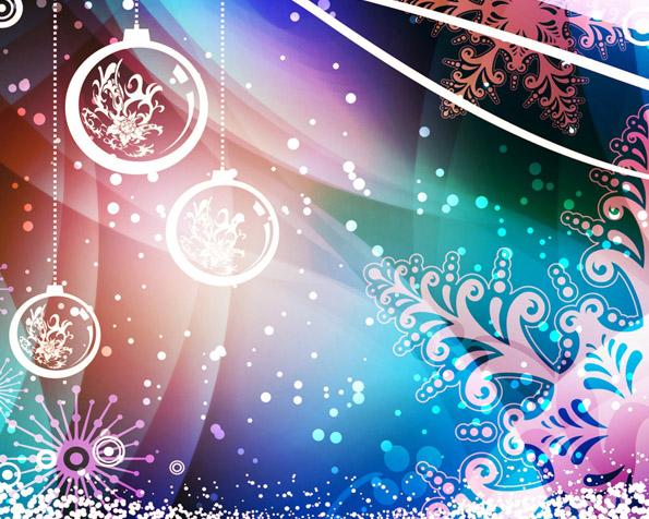 Obrázek na plochu v rozlišení 1280 x 1024 - Vánoce v abstrakci