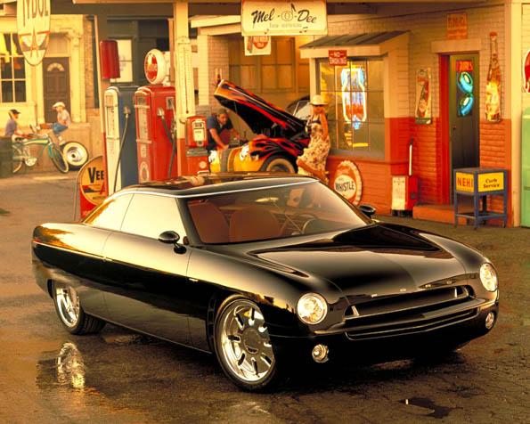 Volba: tapeta v rozlišení 1280 x 1024 - Ford koncept ze starých časů