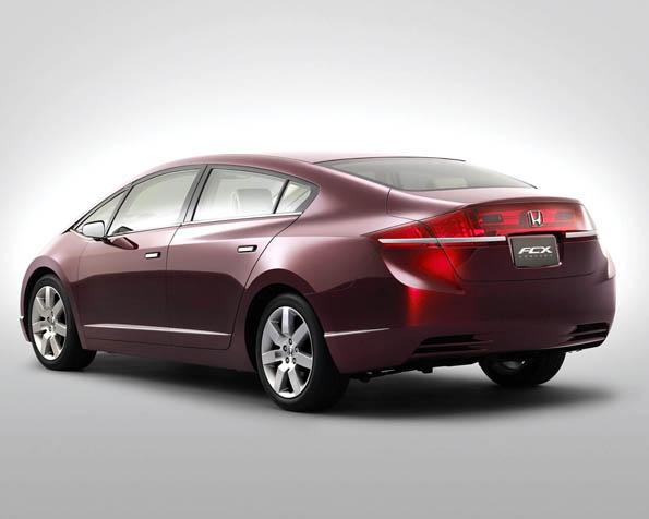 Volba: tapeta v rozlišení 1280 x 1024 - Honda FCX prototyp