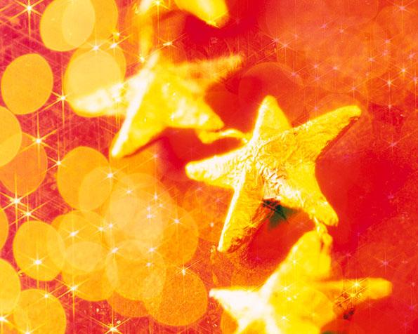Obrázek na plochu v rozlišení 1280 x 1024 - Vánoční hvězdy
