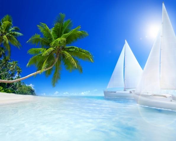 Obrázek na plochu v rozlišení 1280 x 1024 - Život na vysněné pláži