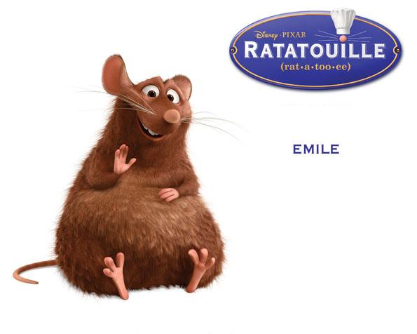 Obrázek na plochu v rozlišení 1280 x 1024 - Emile z Ratatouille