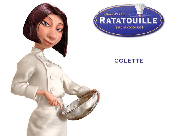 Obrázek na plochu v rozlišení 1280 x 1024 - Colette z Ratatouille