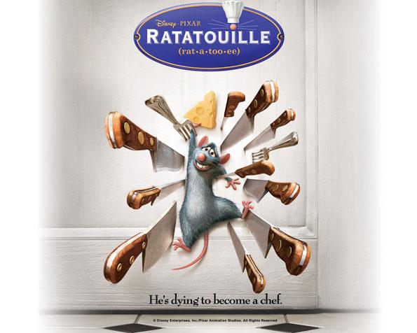 Volba: tapeta v rozlišení 1280 x 1024 - Remy z Ratatouille