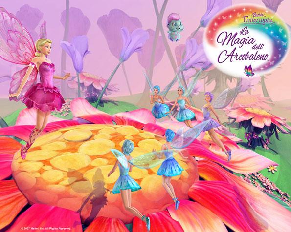 Obrázek na plochu v rozlišení 1280 x 1024 - Panenka Barbie jako kouzelná víla