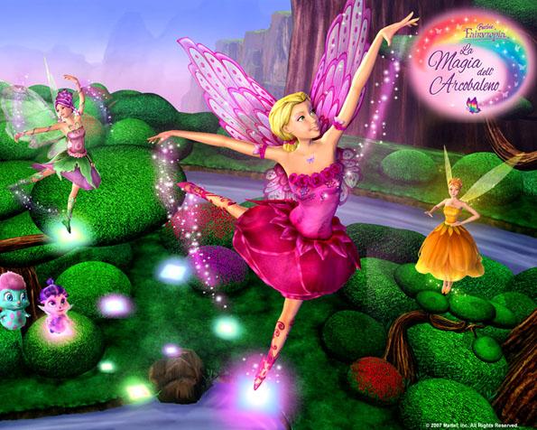 Obrázek na plochu v rozlišení 1280 x 1024 - Kouzelná víla Barbie a její přítelkyně