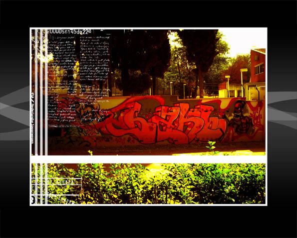 Volba: tapeta v rozlišení 1280 x 1024 - Holandský grafity styl