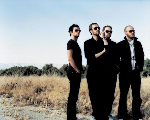 Volba: tapeta v rozlišení 1280 x 1024 - Coldplay v černém