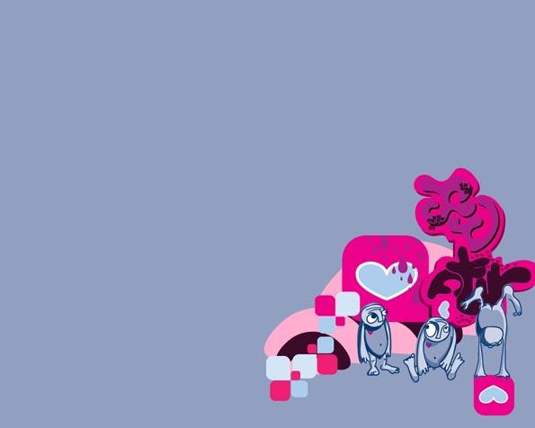 Obrázek na plochu v rozlišení 1280 x 1024 - EMO málo lásky