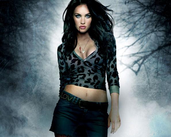 Obrázek na plochu v rozlišení 1280 x 1024 - Megan Fox ve své další roli Jennifer