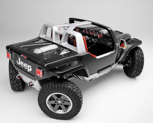 Obrázek na plochu v rozlišení 1280 x 1024 - Koncept terénního vozu Jeep