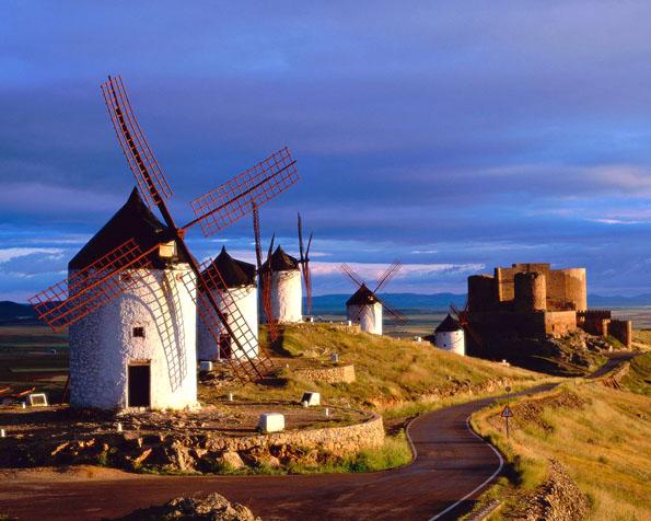 Obrázek na plochu v rozlišení 1280 x 1024 - Consueqra La Mancha Španělsko