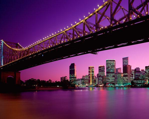 Volba: tapeta v rozlišení 1280 x 1024 - Brisbane Quensland Australie