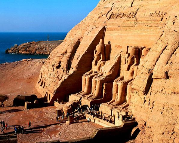 Obrázek na plochu v rozlišení 1280 x 1024 - Abu Simbel Egypt