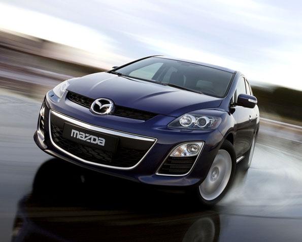 Obrázek na plochu v rozlišení 1280 x 1024 - Mazda CX 7 na leasing