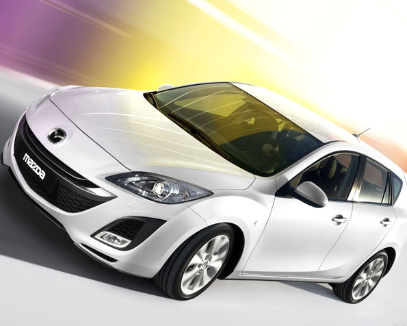 Obrázek na plochu v rozlišení 1280 x 1024 - Mazda 3i stop na půjčku