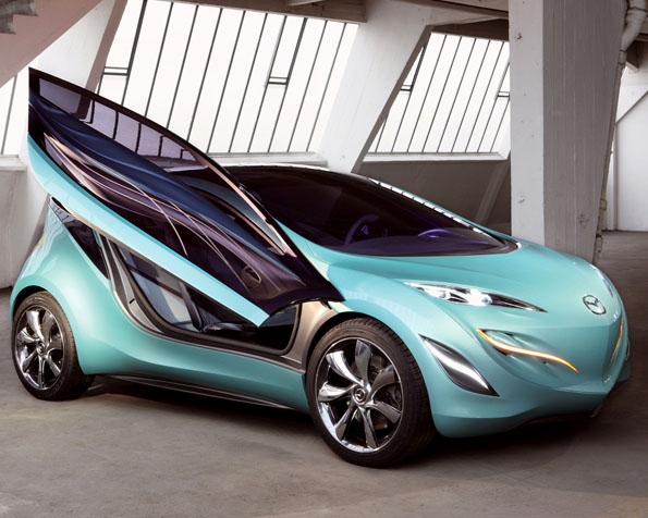 Obrázek na plochu v rozlišení 1280 x 1024 - Mazda Kiyora koncept