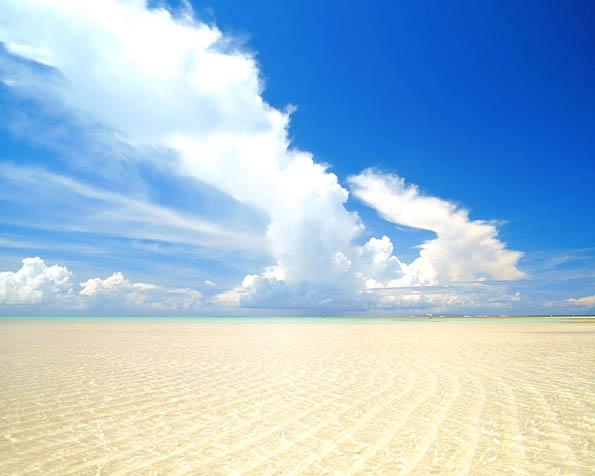 Obrázek na plochu v rozlišení 1280 x 1024 - Křišťálově čístá písečná pláž