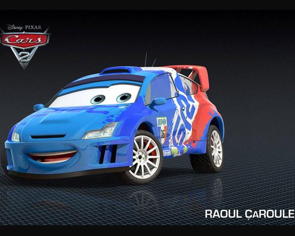 Obrázek na plochu v rozlišení 1280 x 1024 - Raoul CaRoule ve filmu Auta 2