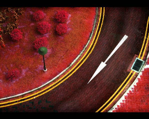 Volba: tapeta v rozlišení 1280 x 1024 - Červený svět