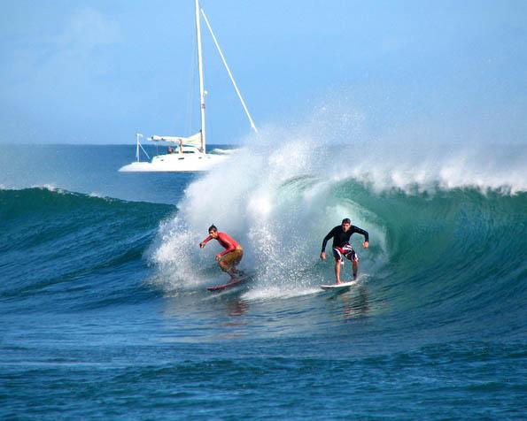 Obrázek na plochu v rozlišení 1280 x 1024 - Double surfing