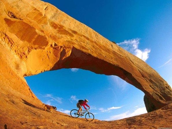 Obrázek na plochu v rozlišení 1280 x 1024 - Cross country na kole