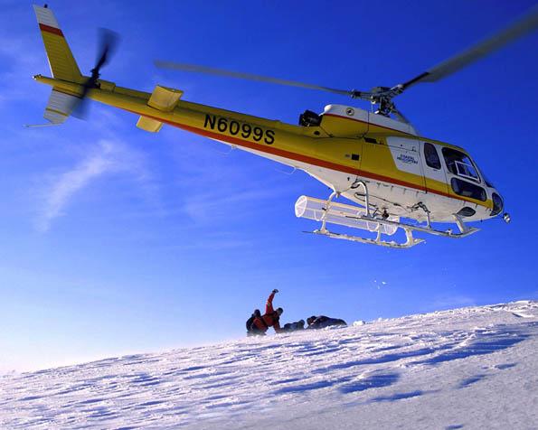 Obr�zek na plochu v rozli�en� 1280 x 1024 - Heliboarding na Alja�ce