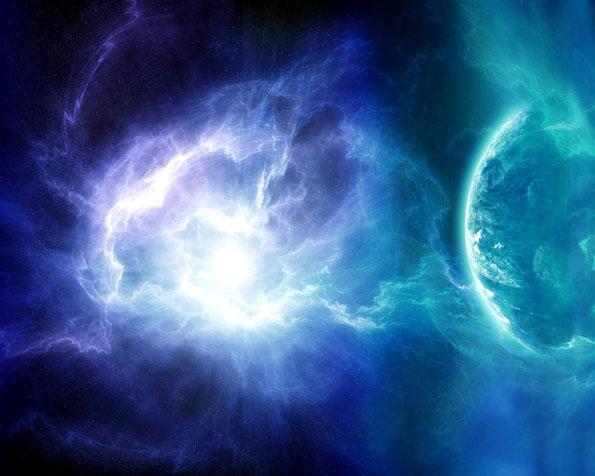 Obrázek na plochu v rozlišení 1280 x 1024 - Magie uprostřed vesmíru