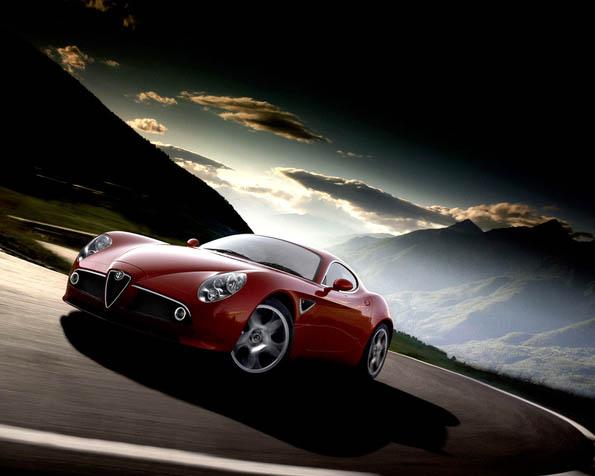 Obrázek na plochu v rozlišení 1280 x 1024 - Alfa Romeo