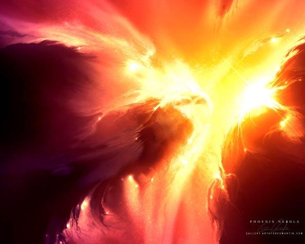 Volba: tapeta v rozlišení 1280 x 1024 - Fenix Nebula