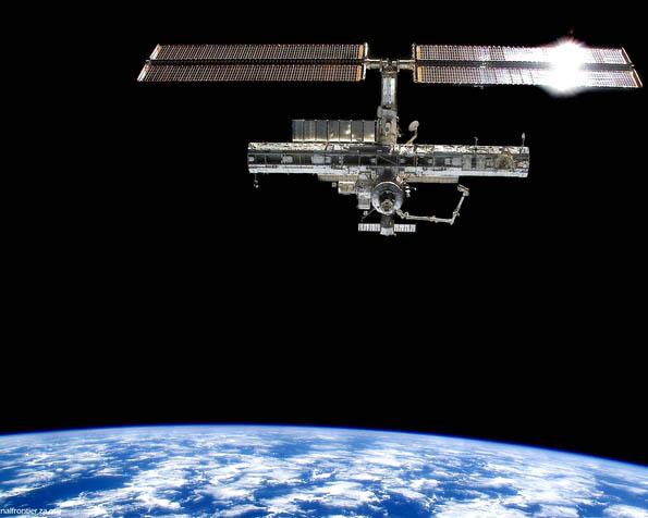 Volba: tapeta v rozlišení 1280 x 1024 - Vesmírná stanice ISS