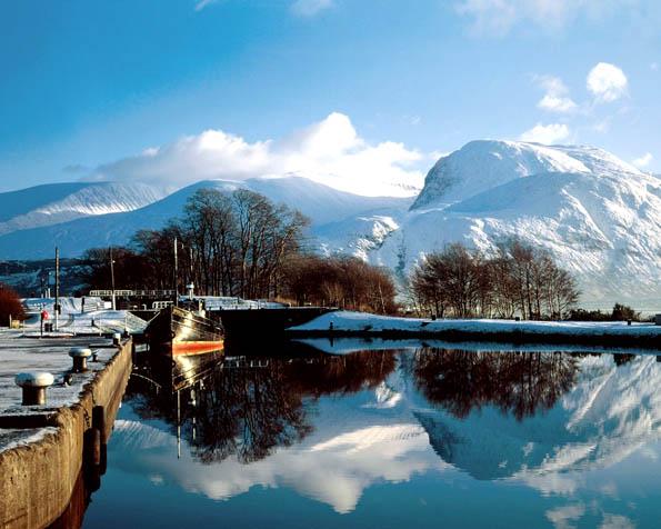 Obrázek na plochu v rozlišení 1280 x 1024 - Ben Nevis Skotsko