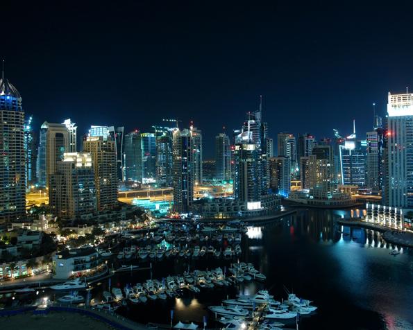 Obrázek na plochu v rozlišení 1280 x 1024 - Úžasný přístav v Dubaji