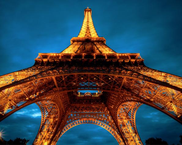 Obrázek na plochu v rozlišení 1280 x 1024 - Dech beroucí Eifelova věž