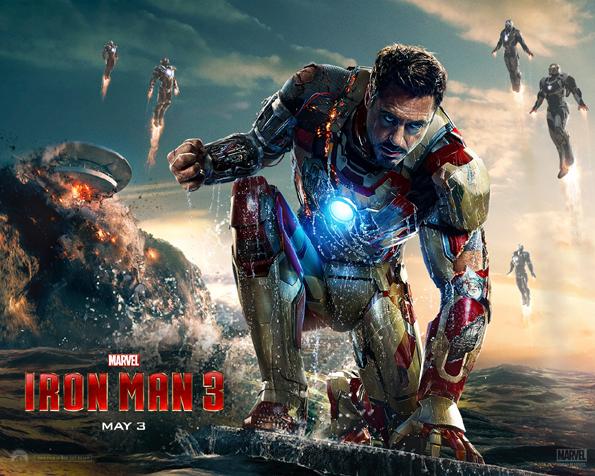 Obrázek na plochu v rozlišení 1280 x 1024 - Ironman 3