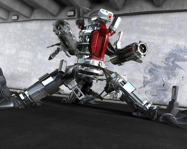 Obrázek na plochu v rozlišení 1280 x 1024 - Robot killer