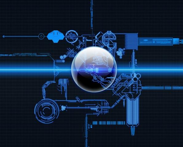 Obrázek na plochu v rozlišení 1280 x 1024 - Scifi