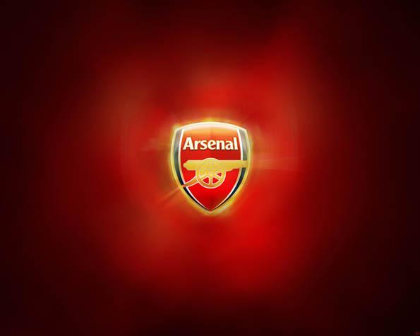 Obrázek na plochu v rozlišení 1280 x 1024 - Logo Arsenalu Londýn