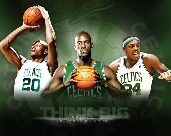 Obrázek na plochu v rozlišení 1280 x 1024 - Boston Celtics