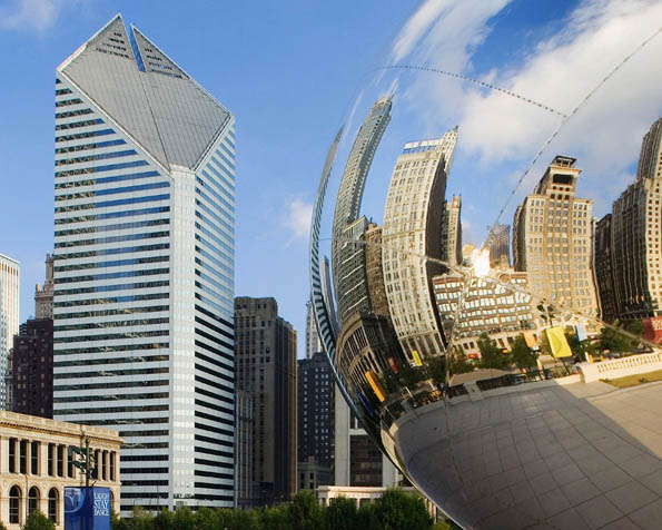 Obrázek na plochu v rozlišení 1280 x 1024 - Bean Millennium Park Chicago