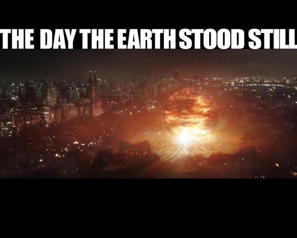 Obrázek na plochu v rozlišení 1280 x 1024 - Obří exploze ve filmu Den kdy se Země zastavila