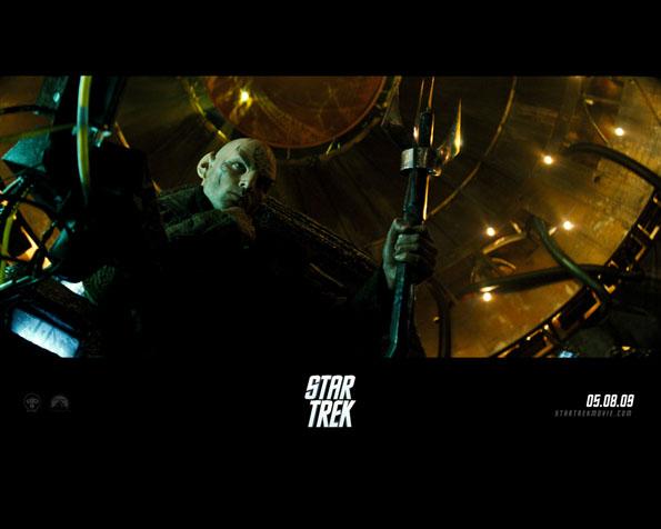 Obrázek na plochu v rozlišení 1280 x 1024 - Záporná postava bojující proti federaci ve filmu Star trek