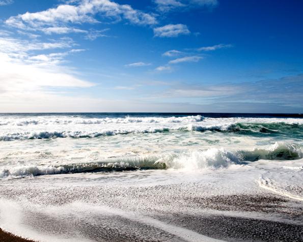 Obrázek na plochu v rozlišení 1280 x 1024 pohodová pláž pro