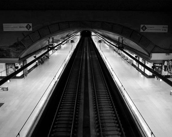 Obrázek na plochu v rozlišení 1280 x 1024 - Madridské metro
